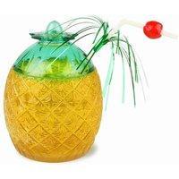 Pineapple Glass 20.8oz / 590ml (Set of 2) - Pineapple Gifts