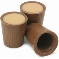 Kernow Chocolate Shot Cups 0.5oz / 15ml (Pack of 12) - Shot Glasses Gifts