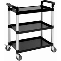Compact 3 Tier Polypropylene Trolley - Cooking Gifts