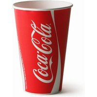 Coca Cola Paper Cups 12oz / 340ml (Sleeve of 100) - Coca Cola Gifts