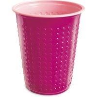 Bicolor Cups Fuschia/Pink 7oz / 210ml (Sleeve of 40)