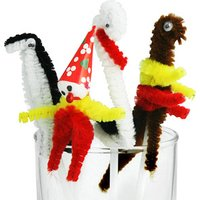 Fuzzy Cocktail Characters (Bag of 10) - Drinking Gifts