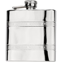 Sterling Stainless Steel Hip Flask 6oz - Flask Gifts
