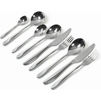 Saffron Cutlery 108 Piece Set (108 Piece Set) - Cutlery Set Gifts