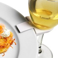 Wine Glass Plate Clips (Pack of 4) - Drinking Gifts