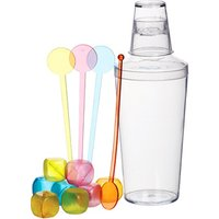 Mix It Thirteen Piece Cocktail Shaker Set - Getting Drunk Gifts
