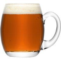 LSA Bar Beer Tankard 17.6oz / 500ml (Case of 4) - Beer Gifts