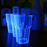 Elite Remedy Polycarbonate Neon Tumblers Blue 14oz / 400ml (Set of 4)