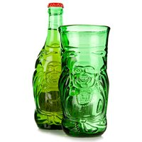 Lucky Buddha Beer Bottle Glass 11.6oz / 330ml (Single) - Glass Gifts
