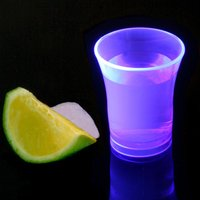Econ Neon Purple Polystyrene Shot Glasses CE 0.9oz / 25ml (Case of 100) - Shot Glasses Gifts