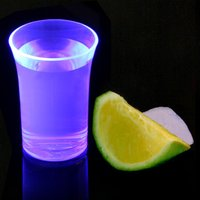 Econ Neon Purple Polystyrene Shot Glasses CE 1.25oz / 35ml (Case of 100) - Shot Glasses Gifts