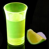 Econ Neon Yellow Polystyrene Shot Glasses CE 1.75oz / 50ml (Case of 100) - Shot Glasses Gifts