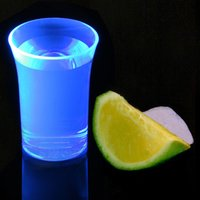 Econ Neon Blue Polystyrene Shot Glasses CE 1.25oz / 35ml (Case of 100) - Shot Glasses Gifts