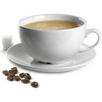 Churchill White Beverage Cappuccino Cup CB40 and Cappuccino Saucer CSS 16oz / 450ml (Single)