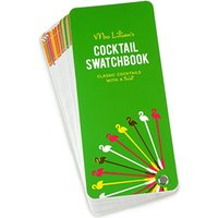 Mrs. Lilien's Cocktail Swatch Book - Books Gifts