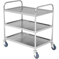 Stainless Steel 3 Tier Trolley - Cooking Gifts