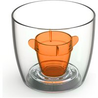 Bomber Cups Orange 3.8oz / 108ml (Pack of 10) - Shot Glasses Gifts