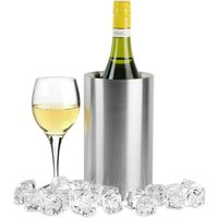 Stainless Steel Double Walled Wine Cooler (Single) - Drinking Gifts