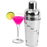 Stainless Steel Recipe Cocktail Shaker - Getting Drunk Gifts