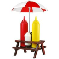 Picnic Bench Condiment Set - Picnic Gifts