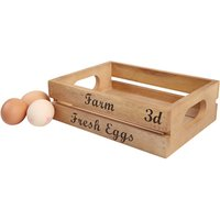 Baroque Storage Crate for Farm Fresh Eggs (Pack of 6) - Farm Gifts