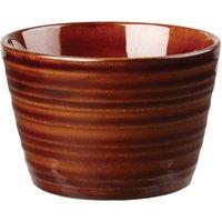 Art De Cuisine Rustics Snug Sugar Bowl Brown 8oz / 227ml (Case of 6) - Bowl Gifts