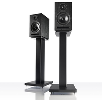 Acoustic Energy AE101B 1 Series Stand Mount Loudspeakers   Black Ash