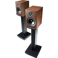 Acoustic Energy AE101W 1 Series Stand Mount Loudspeakers   Walnut