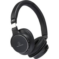 Audio Technica ATH SR5BT High Resolution Wireless On Ear Headphones in Black