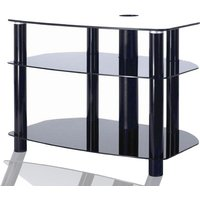 Alphason AVCR503 Universal Table Stand in Black for Screens up to 50