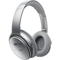 Bose QuietComfort 35 Noise Cancelling Wireless Headphones in Silver (QC35)