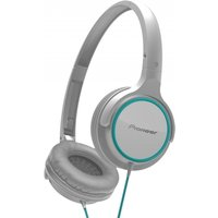 Pioneer SEMJ512GW Compact On-Ear Headphones Pure Sound Series