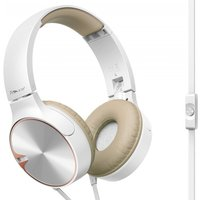 Pioneer SEMJ722T On-ear headphones optimized for smartphones with ribbon cable