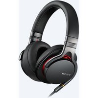 Sony MDR1AB High Resolution In Line Remote Mic Headphones in Black