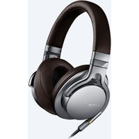 Sony MDR1AS High Resolution In Line Remote Mic Headphones in Silver