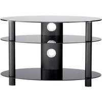 Alphason AR800 Accord Table Stand in Black for Screens up to 37