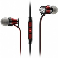 Sennheiser Momentum M2 IEi for Apple devices in Black and Red