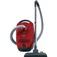 Miele Classic C1 Powerline SBAF3 Bagged Cylinder Vacuum Cleaner in Red 10660600