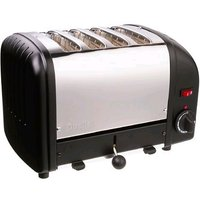 Buy Dualit 4-Slice Toaster 40344 in Black - Electricshopping.com