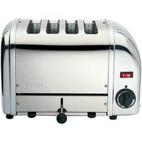 Buy Dualit 4 Slice Stainless Steel Toaster 40352 - Electricshopping.com