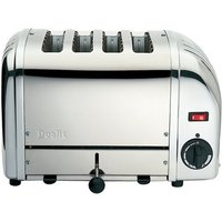 Buy Dualit 4 Slot NewGen Toaster 47180 Polished Stainless Steel - Electricshopping.com
