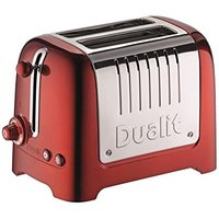 Buy Dualit 2 Slot Lite Toaster in Metallic Red - Electricshopping.com
