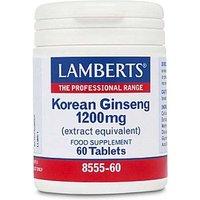 Lamberts Korean Ginseng 1200mg
