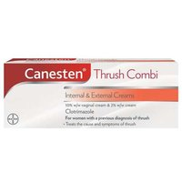 Canesten Cream Combi Internal and External Creams