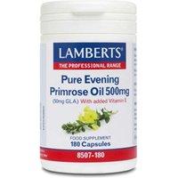 Lamberts Evening Primrose Oil 500mg (180)