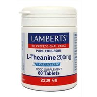 Lamberts L-Theanine (60 Tablets)