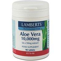 Lamberts Aloe Vera 10,000mg 90 Tablets