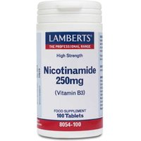 Lamberts Nicotinamide 250mg 100 tablets