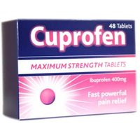 Cuprofen Ibuprofen Tablets Maximum Strength (48)