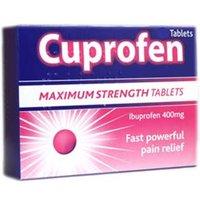 Cuprofen Ibuprofen Tablets Maximum Strength (12)